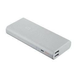 Baterie portabila CANYON Ultra Capacity, 13000mAh, 2xUSB, White