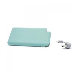 Baterie portabila Hame T6, 8000mAh, 1x USB, Ice Green