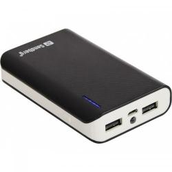 Baterie portabila Sandberg 7800mAh, 2xUSB, Black-White