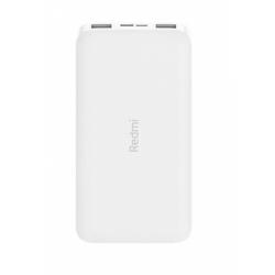 Baterie portabila Xiaomi Redmi Power Bank, 10000 mAh, 2x USB, 1x USB-C, 2.4A, White