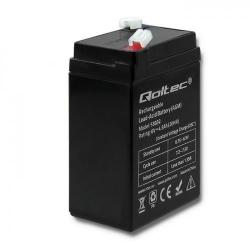 Baterie Qoltec UPS 53032, 6V, 4.5Ah
