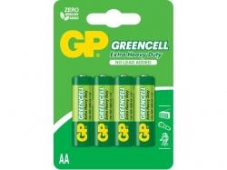 Baterie R6 (AA) 4 buc/blister Greencell GP; Cod EAN: 4891199000133 - pret pe bucata