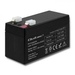 Baterie UPC Qoltec 53040, 12V, 1.3Ah