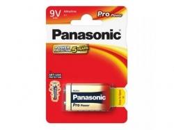 Baterii Panasonic Pro Power Alkaline, 1x 6LR61/9V, Blister
