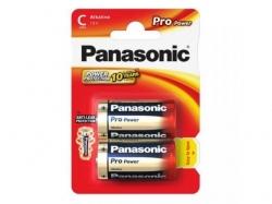 Baterii Panasonic Pro Power Alkaline, 2x LR14/C, Blister