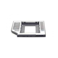 Bay Adapter Gembird MF-95-02 HDD/SSD, pentru unitati optice de tipul 12.7 mm