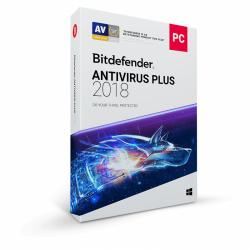 Bitdefender Antivirus Plus 2018, 5 user/1 an, Base Retail