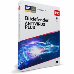Bitdefender Antivirus Plus 2021, 1user/1year, Base Retail