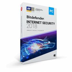 Bitdefender Internet Security 2018, 5 user/1 an, Base Retail