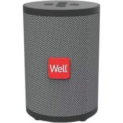 Boxa portabila Well Peal, Bluetooth, 5W, gri; Cod EAN: 5948636038330