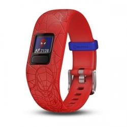 Bratara fitness Garmin Vivofit Jr. 2 Spiderman, Red
