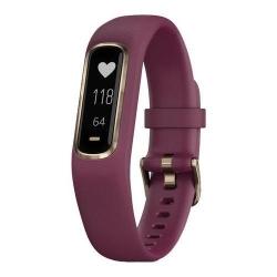 Bratara Fitness Garmin VivoSmart 4, Merlot-Rose Gold