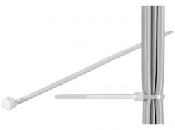 Brida (colier) 4.5x200mm, plastic, transparenta pentru cabluri 200-4,5-BU100
