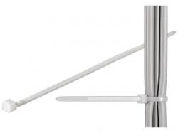 Brida (colier) 4.8x300mm, plastic, transparenta, pentru cabluri 310-4,8-BU100