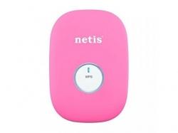 Bridge/Range Extender Netis E1+, Pink