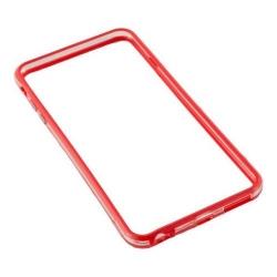 Bumper silicon Serioux pentru iPhone 6/6S, Red