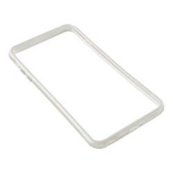 Bumper silicon Serioux pentru iPhone 6/6S, White