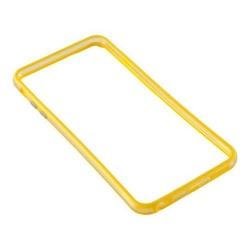 Bumper silicon Serioux pentru iPhone 6/6S, Yellow
