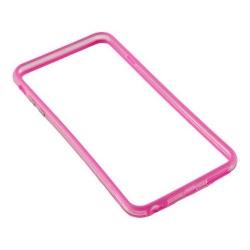 Bumper silicon Serioux pentru iPhone 6Plus/6S Plus, Pink