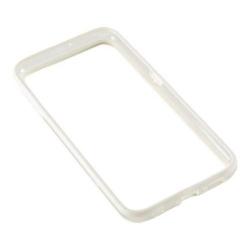 Bumper silicon Serioux pentru Samsung Galaxy S6, White