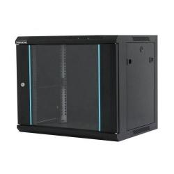 Cabinet rack de perete 15U 600/600mm, negru
