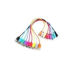 Cablu 4World, USB 2.0 MICRO 5pini, AM / B MICRO transfer/incarcare OEM, 1.0m, albastru