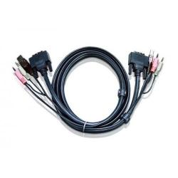Cablu ATEN Cablu DVI-D 2L-7D02U, 1.8m