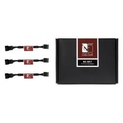 Cablu componente Noctua 4-pin Fan Female - 4-pin Fan Male, negru NA-SRC7