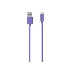 Cablu de date Belkin F2CU012BT2M-PUR, USB - micro USB, 2m, Purple