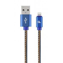 Cablu de date Gembird CC-USB2J-AMCM-1M-BL, 1m, Blue