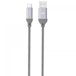 Cablu de date Silicon Power Boost Link LK30AC, USB - USB-C, 1m, Grey