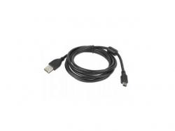 Cablu de date Gembird, USB 2.0 A - mini USB, 1.8m, Black
