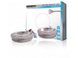 Cablu FTP cat6 conductor solid cuoru AWG24 50m/rola Konig  Cod EAN 5412810158188