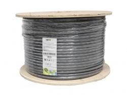 Cablu FTP cu sufa cat.5e, 8 fire din cupru 0.50mm, 500m, Well ; Cod EAN: 5948636029420