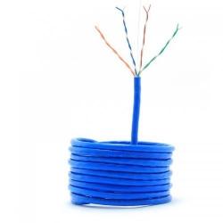 Cablu Gembird UTP cat. 5E, cupru, Blue, rola 305m