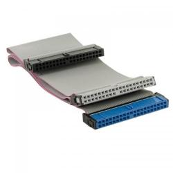 Cablu plat HDD 4World, PATA 40-pini IDE66, 60cm, gri