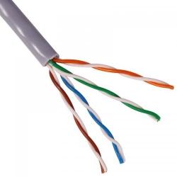 Cablu retea CAT5e FTP, ecranat, CCA, gri FTP-CCA-GY/305