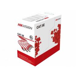 Cablu retea Hikvision HWC-5EAU-G, UTP, Cat. 5e, 305m