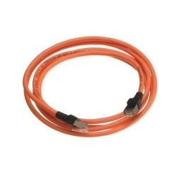 Cablu retea Nexans, LSZH, CAT6a, 30m, Orange