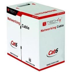 Cablu retea Techly Pro, UTP, Cat 6, 305m, Blue