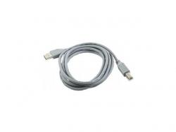 "CABLU USB2.0 pt. imprimanta, GEMBIRD, 1.8m, (AM/BM), calitate premium, grey, ""CCP-USB2-AMBM-6-6G"