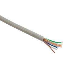 Cablu UTP 4World, 4x2, cat. 5e, cablu litat, 100 m, colac, miez CU - 100%, gri