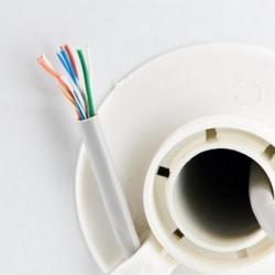 Cablu UTP 4World, cat. 5e, 4x2, standard 305m (Rola), gri