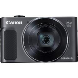 Camera foto compacta Canon SX620, 20.2 MP, Black