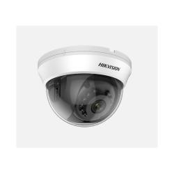 Camera HD Dome Hikvision Turbo DS-2CE56H0T-IRMMF(C), 5MP, Lentila 2.8mm, IR 20m