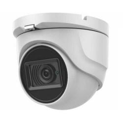 Camera TurboHD Dome Hikvision DS-2CE76H0T-ITPF24, 5MP, Lentila 2.4mm, IR 20m