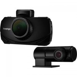 Camera video auto Prestigio RoadRunner 600GPSDL, WQHD, Black