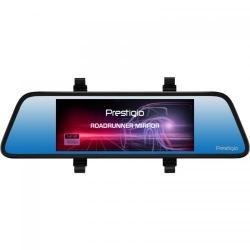 Camera video auto Prestigio RoadRunner Mirror, Full HD, 7inch, Black