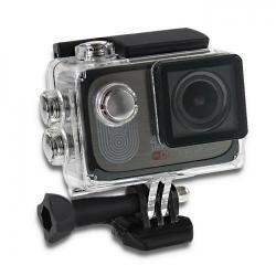 Camera Video Sport Qoltec Waterproof, Black