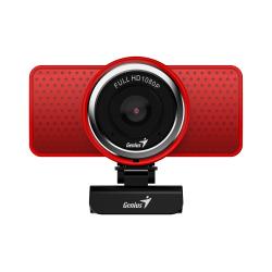 Camera WEB Genius ECam 8000, 2MP, Red